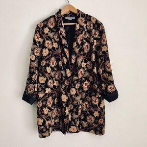 Vintage Blazer Kimono Jacket